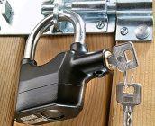 Innovative Anti Theft Burglar Pad Lock Alarm Security Siren Home Office Bike Bicycle Shop