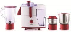 Usha JM - 500XJ3 Juicer Mixer Grinder with 3 Versatile Jars