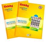 Oddy A4 Size Snapshot Coated Glossy Inkjet ID Paper For High-Resolution Prints (180 GSM 20 Sheets) (Pack of 1)