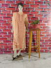 WACA Voguish, Stylish & Fashionable Suit Piece with Chikankari Embroidery along with it Comes a Lavishing Dupatta for Women in (Pack Of 1) | (Color: Peach)