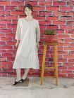 WACA Stylish & Modish Full Sleeves Pure Cotton Stylish Kurti With Chikankari Embroidery for Women's (Pack of 1) | (Color: Pearl White)