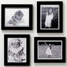 HARISRUSHTI Photo Frame Set of 4 Pic (5x7 inch-4 Pic) for Wall Decor