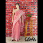 WACA Stylish & Trendy Saree With Chikan Embroidery which comes Inclusive of a Blouse Piece for Women's (Pack: Pack of 1) | (Color: Taffy Pink)