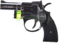 Plastic Material Pistol Shaped Lighter With Laser Light (Pack Of 1)