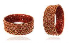 Priya Kangan Beautifull Designer Full Stones Fancy & Bridal Glass Bangles for All Occasions Purpose