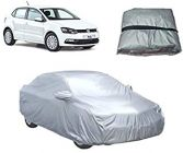 After Cars Water Resistant Car Body Cover For Volkswagen Polo (Silver)