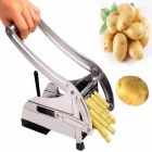 Stainless Steel Potato Chipser With Potato Slicer Two Product In Combo (Buy 1 Get 1 Free)