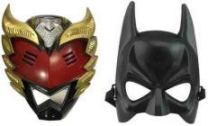 PTCMART Power Ranger & Batman Shape Face Mask For Kids Party Mask (Multicolor, Pack of 2)