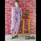 WACA Stylish & Trendy Unstitched Chanderi Suit Piece With Chikankari Embroidery Along with it comes a Lavishing Dupatta for Women's (Pack: Pack of 1)   (Color: Thistle Purple)
