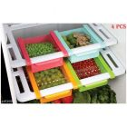 Fridge Drawers, Ideally Sized To Fit Fruits, Vegetables, And Other Food Items In The Fridge (Package Content: 4 Pcs)