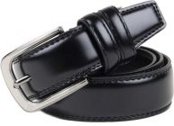 Winsome Deal Black Genuine Leather Casual Belts For Men's