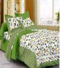 VINODTRADERS Jaipuri Stylish Cotton 100 X 90 Double Bedsheets | Pack of 1