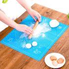 Homeoculture Rolling Mat Silicone Baking Mat Sheet Chapati Mat Atta Kneading Mat Baking Mat | Cake