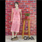 WACA Stylish & Trendy Unstitched Cotton Suit Piece with Chikankari Embroidery with it comes a Lavishing Dupatta for Women's (Pack: Pack of 1) | (Color: Rose Pink)