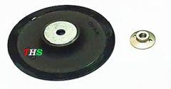 THS RUBBER Backing Pad Grinder Nut for Sander Polisher Angle Grinders M10, 5 Inch 125mm (Pack of 1)