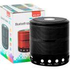 WS887 Mini Bluetooth speaker with FM Radio, Memory Card Slot, USB Pen Drive Slot, AUX Input Mode (Multicolor)