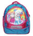 BAGO Super Smart Frozen School Bag For Girl's & Kid's (Multi-Color) (Pack of 1)