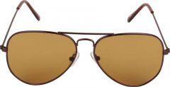 Trendy & Cool 100% UV Protection Aviator Sunglasses For Men & Women (Brown) (Pack Of 1)