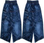 SHAURYA INNOVATION Party Wear Solid Cotton Blend Short For Boy's (Blue) (Pack of 2)