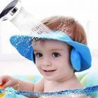 Adjustable Baby Shower Cap New Soft Bathing Baby Wash Hair Eye Ear Protector Hat For New Born Baby