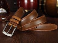 Winsome Deal Tan Artificial Leather Casual Belts Best For Men's