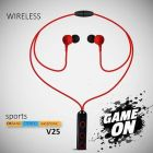 Xclusive Plus Best Neck Band For Sport, Running Wireless Earphone V25 (Pack of 1)