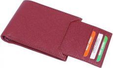 Stylish Short length Artificial Leather 2 Fold Wallet For Mens & Boys (Maroon) (Pack Of 1)