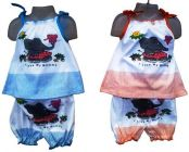 Fancy Printed Top & Bottom Sets Perfect For Girls (Pack Of 2)
