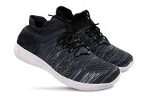 Stylish and Comfortable Solid Printed Casual Shoes For Men's (Black)