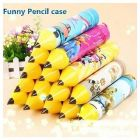 Pencil Shaped Stationery Case Pouch For Kids Birthday Return Gift (Pack Of 10)
