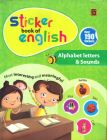Sticker Book Of English - Alphabet Letters & Sounds