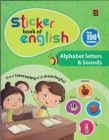 STICKER BOOK OF ENGLISH-ALPHABET LETTERS & SOUNDS
