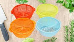 RFL Plastic Kitchen Storage Basket For Fruit & Vegetable