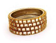 Brass Material Bangles Set for Women & Girls