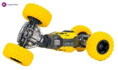 Rechargeable Double Side Driving Stunt CarScale Off-Road Vehicle Remote Control Climbing Monster Stunt Car For Kids