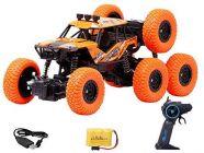 Remote Control Hero Rock Climbing High-Speed Monster Racing Car | Monster Off-Road Remote Control Racing Car With 3D Concept, Racing Car, 8 Wheels For Kids