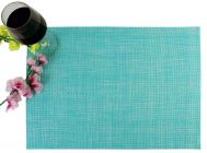 PVC Washable Table Mats For Dining Table (Sky Blue)