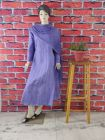 WACA Fashionable & Stylish 100% Cotton Pre-stitched Anarkali With Chikankari Embroidery with it Comes a Chiffon Dupatta with Chikankari work & a Cirosia Border for Women's (Color: Purple)