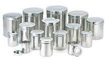 Aquiriosindia Kitchen Essentials Stainless Steel Different Size Grocery Container (Pack of 15)