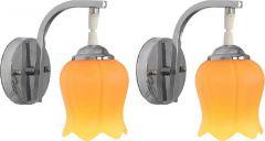 VAGalleryKing Decorative Pendant Night Light Wall Lamp   Orange