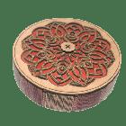 Vintage Royal Wood 6 Slide Gift Box/Dessert Box ICG 04