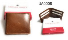 Stylish Leather Wallet   Card Holder & Coin Purse With New Design For Men (Brown)
