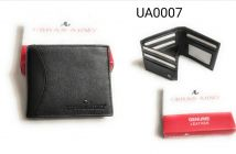 Comfortable Stylish Leather Wallet|Card Holder & Coin Purse With New Design For Men (Black)