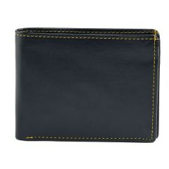 Winsome Deal Trendy, Fashionable New Look, Casual Artificial Leather Wallet for Mens (Blue)