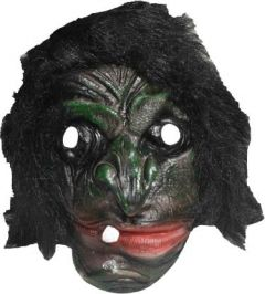 PTCMART 01 Mask Brown 1 Tooth HALLOWEEN SCARY PARTY GHOST MASK (Pack of 1)