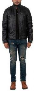 ASPENLEATHER Franchise Club James Dean In Black for Men's
