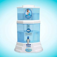Kent Gold 20-Litres Uf Technology Based Gravity Water Purifier (Color: White)