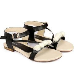 Bxxy's Synthetic Material Flat Sandals for Women's and Girls | Attractive and Elegant Looks Sandals