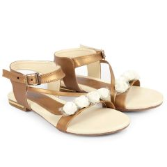 Bxxy's Synthetic Material Flat Sandals for Women's and Girls | Attractive and Elegant Looks Sandals | Superbly Designed Flats From BXXY