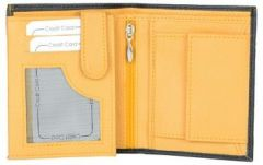 ASPENLEATHER Premium Leather Tall Wallet For Men